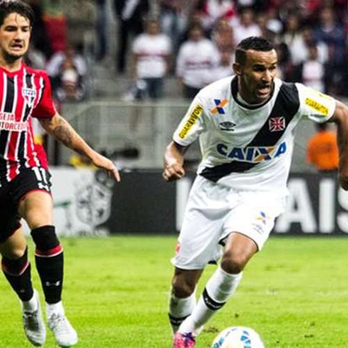 São Paulo goleia e afunda o Vasco no Mané Garrincha