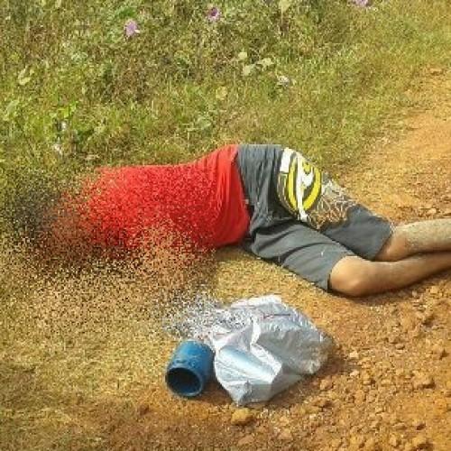 Jovem é encontrado desmaiado no interior do Piauí após ingerir soda cáustica