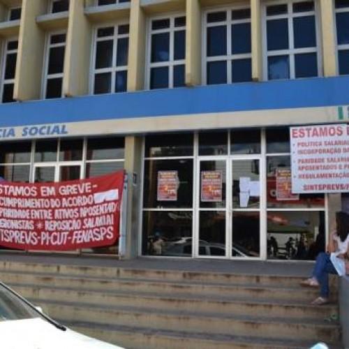 Greve do INSS é encerrada no Piauí, mas atendimento só retorna na segunda-feira (28)