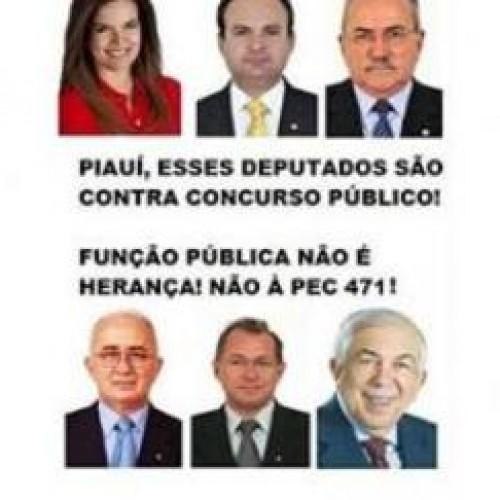 Deputados do Piauí são contra concurso público para cartórios