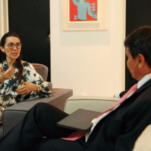 Margarete avalia trabalho como chefe do executivo