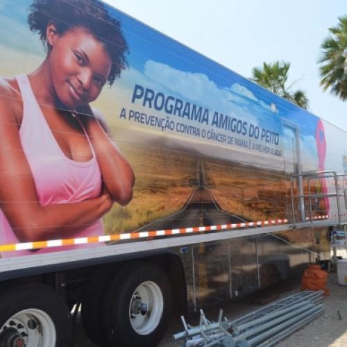 Em uma semana, o Programa Amigos do Peito realizou 200 exames de mamografia
