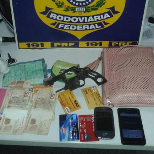 Quatro assaltantes são presos pela PRF-PI após um arrastão no Piauí