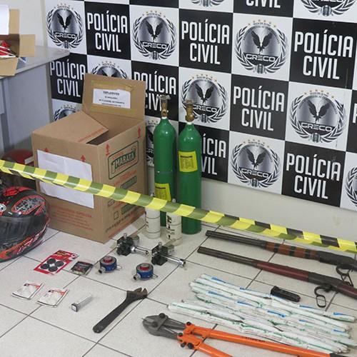 Explosivos achados em Teresina são sobras de assalto ao BB em Jaicós