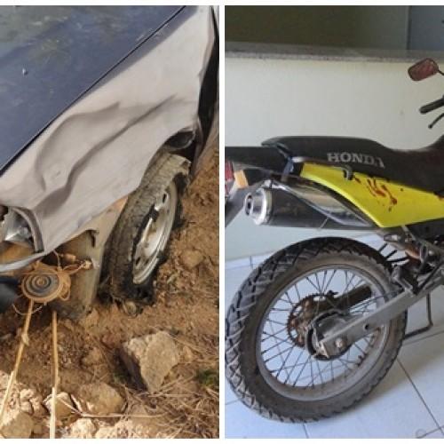 Homem tem pé decepado em acidente na PI 243, entre Padre Marcos e Francisco Macedo