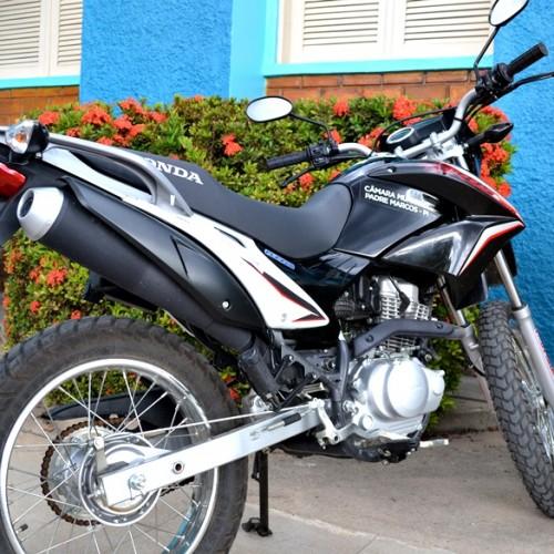 PADRE MARCOS | Moto da Câmara Municipal será leiloada dia 28 para compra de carro novo. Veja!