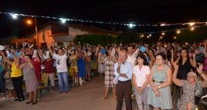 Paróquia de Paulistana realiza peregrinação nos bairros da cidade