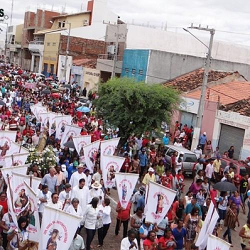 Centenas de Fieis Participam de encerramento dos Festejos de nossa Senhora dos Humildes, em Paulistana