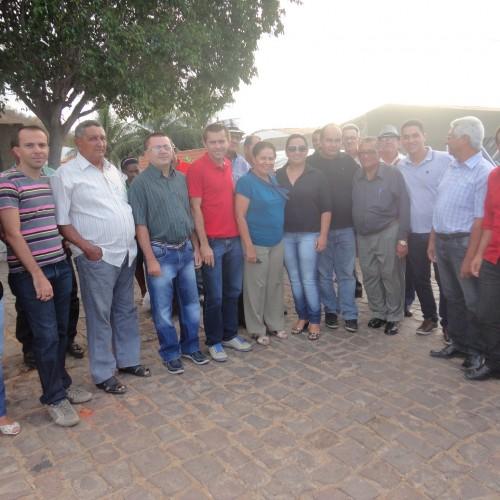 Senadora Regina Sousa visita o município de Francisco Macedo