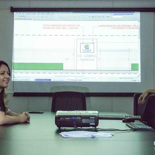 Seduc fará padronização visual nas escolas do Piauí, anuncia Rejane Dias