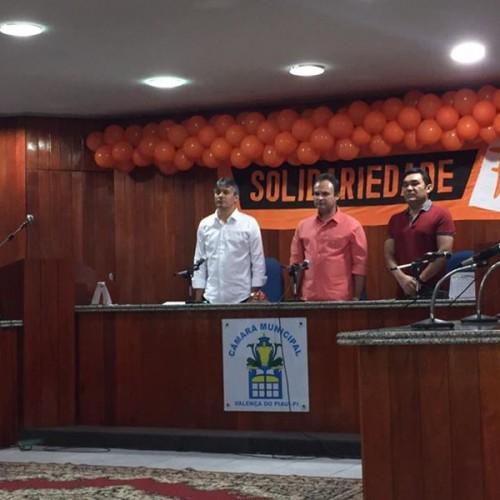 Mainha realiza atividades para expandir Solidariedade no Piauí