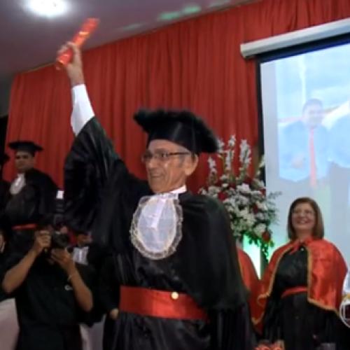 JN: Aos 82 anos, idoso se forma em 2º curso superior,no estado do Piauí