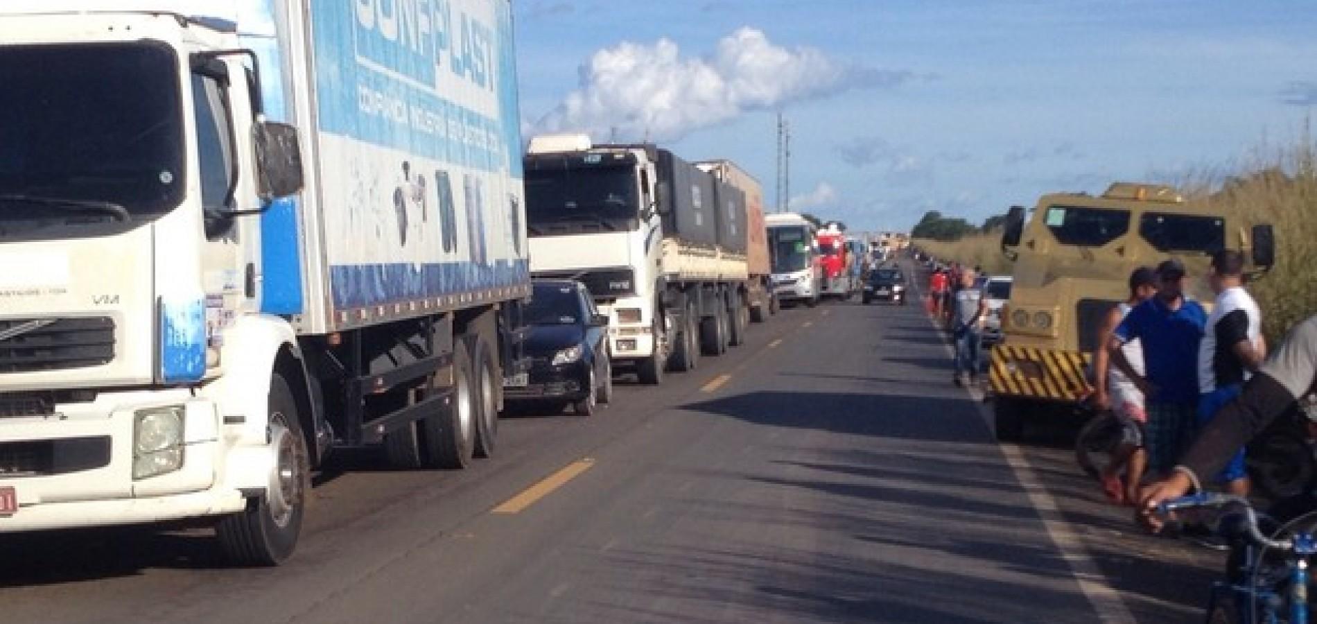 Trecho da BR-316 no Piauí é o 9º mais perigoso do Brasil