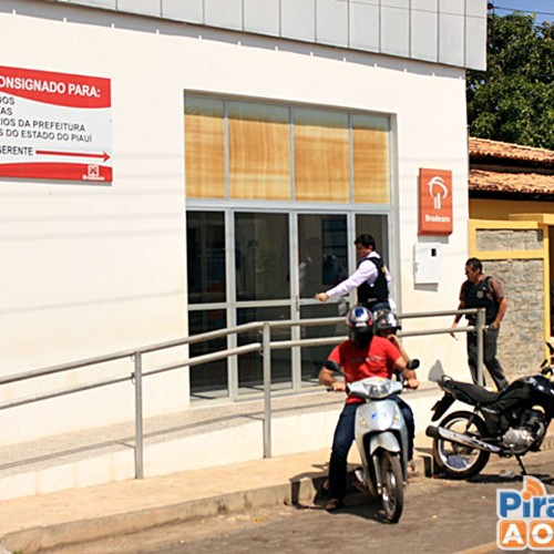 Agência bancária é assaltada pela 2ª vez em dois meses no Piauí