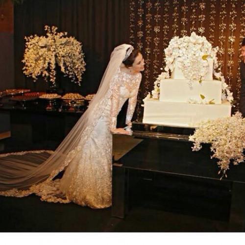 Confira as fotos do casamento de Marcela, filha da vice-governadora Margarete Coelho