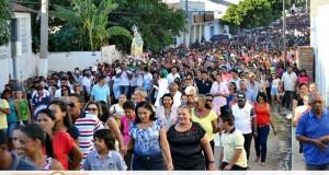 FOTOS | Procissão com Nossa Senhora das Mercês, em Jaicós