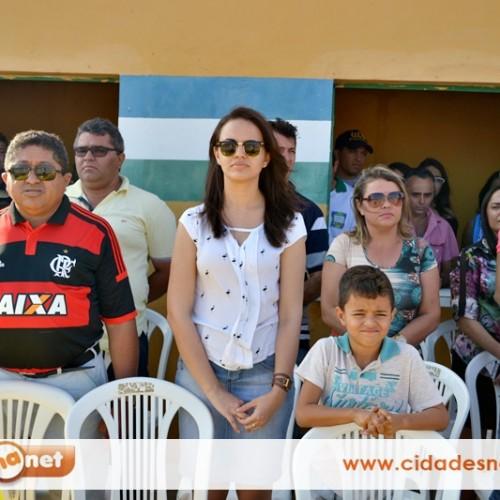 Prefeita Débora abre oficialmente o IX Campeonato Municipal de Futebol em Belém do Piauí