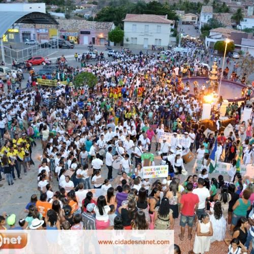 Desfile Cívico Estudantil comemora o Dia da Independência em Jaicós; veja fotos