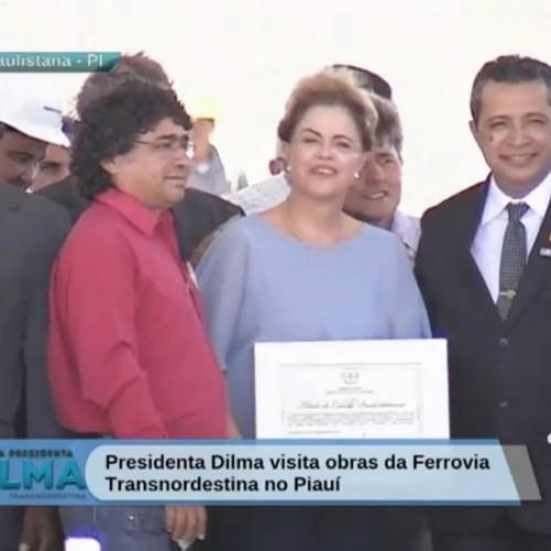 Presidente Dilma recebe Título de Cidadania em Paulistana