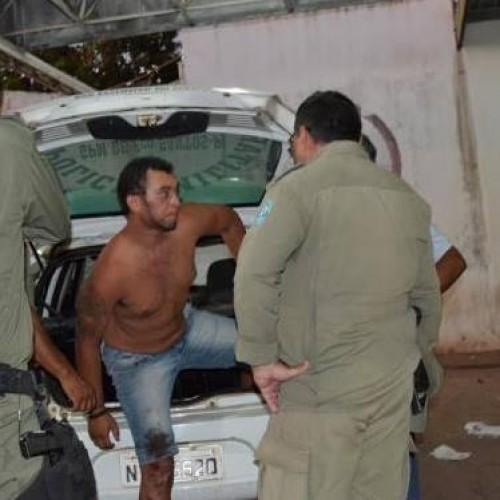 Após ser atingido por disparo acusado de furto de moto é preso em Francisco Santos