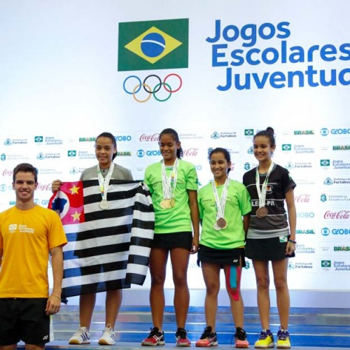 Jogos Escolares: Badminton do Piauí dá show e fatura 6 medalhas