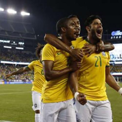 Brasil atropela EUA em último teste antes das eliminatórias