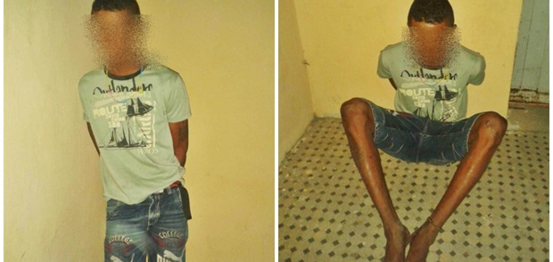 JAICÓS | Menor acusado de matar homem a facada é capturado pela Polícia Militar