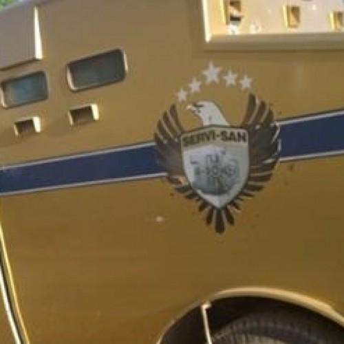 Dez Homens armados com fuzis assaltam carro forte em cidade do Piauí