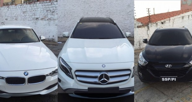 Operação prende quadrilha que vendia carros de luxos com documento falso no Piauí