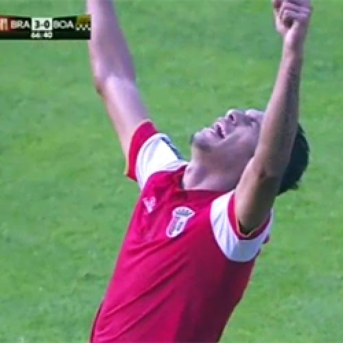Piauiense Crislan marca 1º gol pelo Braga de Portugal em goleada