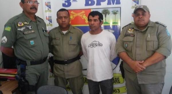 Acusado de assassinar companheira a facadas é preso pela polícia em Floriano