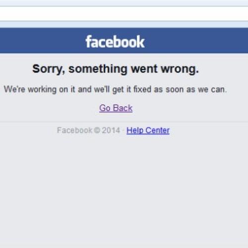 Facebook apresenta instabilidade e usuários não conseguem acessar site