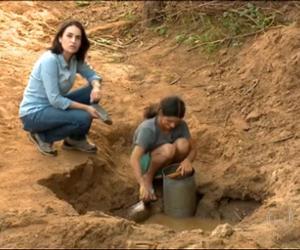 Jornal Nacional mostra o drama das famílias que sofrem com efeitos da seca em Paulistana
