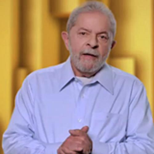 Propaganda petista mostra Lula como protagonista e não faz menção a Dilma