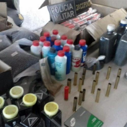Polícia Militar descobre fábrica de munição no interior do Piauí