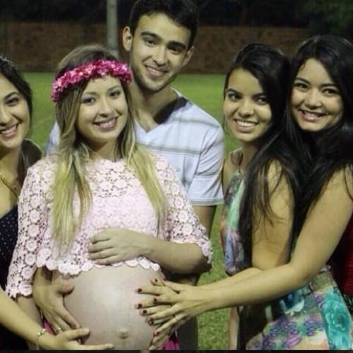 Wellington Dias e Rejane são avós; já nasceu a Júlia, filha de Vinicius Dias e Anny