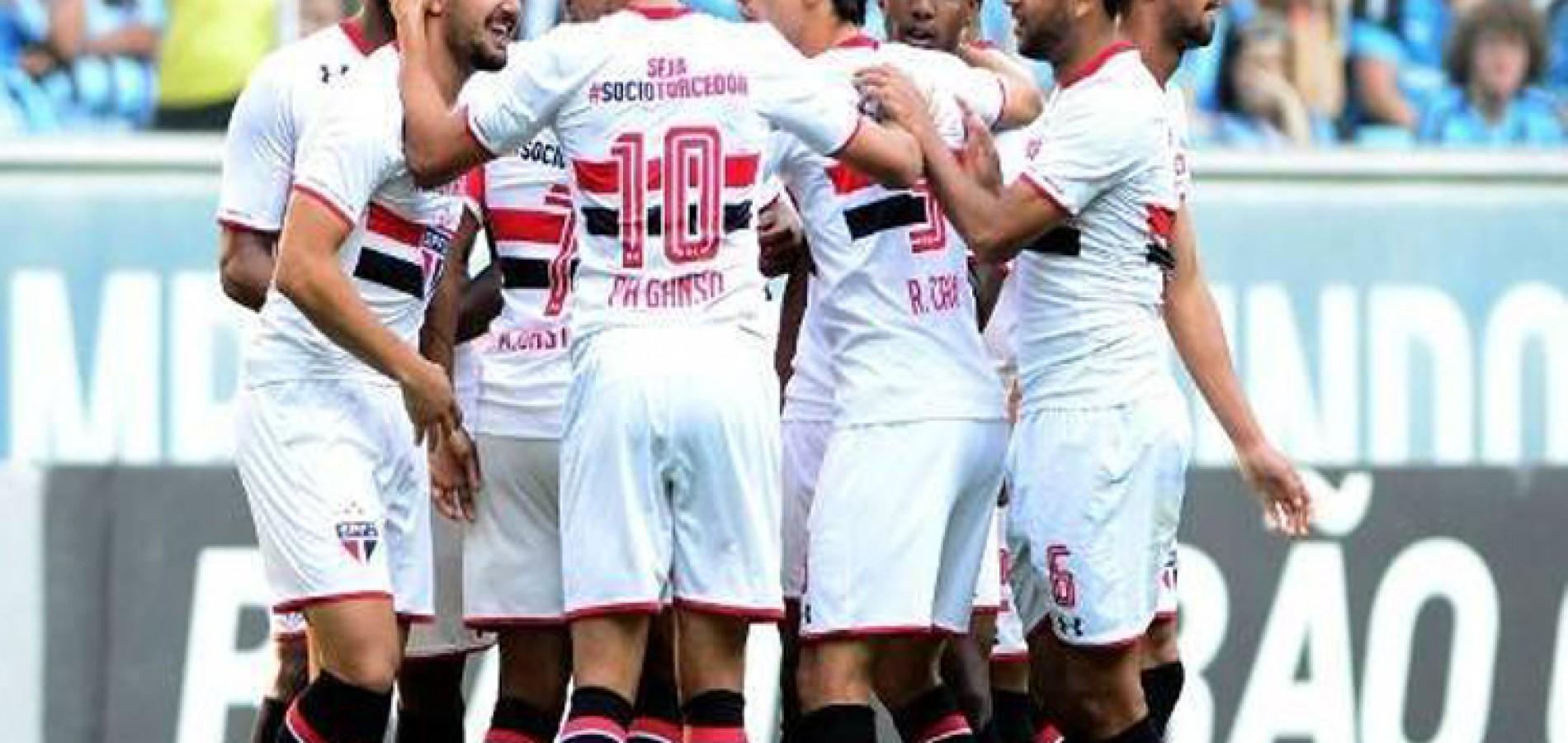 São Paulo fica com 33% de chances de vaga na Libertadores; Palmeiras só tem 21%