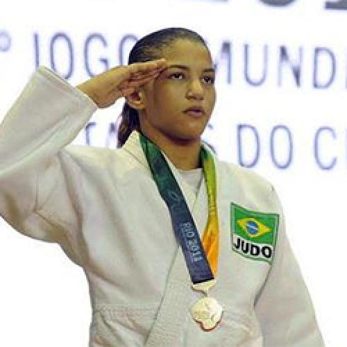 Judoca Sarah Menezes disputará os Jogos Mundiais Militares na Coréia