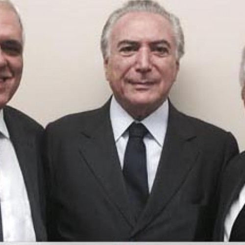 Elmano se reúne com Michel Temer e recebe convite para se filiar ao PMDB