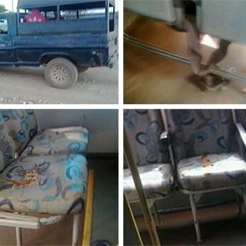 Internauta denuncia que alunos são transportados em péssimas condições em Queimada Nova