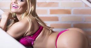 Ex-'Zorra Total' assume favoritismo na votação do Miss Bumbum