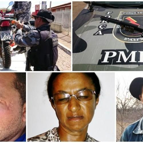 Capitão Felipe fala sobre prisão do trio que assassinou agricultor no interior de Acauã; veja novas imagens