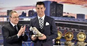 Real Madrid homenageia Cristiano Ronaldo por recorde de gols