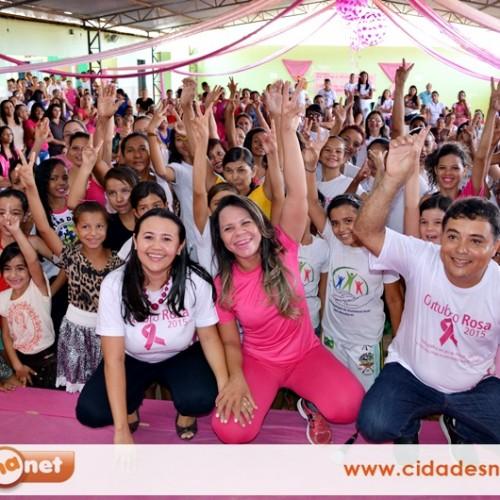 'Outubro Rosa': Vera Mendes promove grande mutirão de prevenção ao câncer
