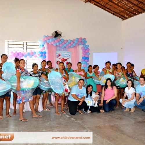 Gestantes participam de atividades da II Semana do Bebê em Jaicós