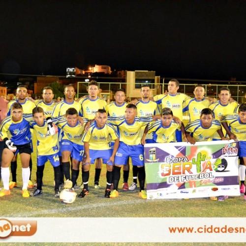 Seleção de Jaicós estreia com empate na Copa Sertão 2015