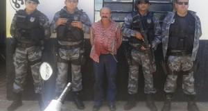 Força Tática de Paulistana prende suspeito de tentativa de homicídio