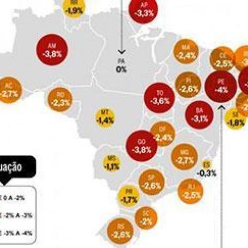 Pesquisa revela que Piauí fechará o ano em recessão econômica