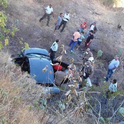 Cinco pessoas de Fronteiras sofrem acidente automobilístico na BR-020