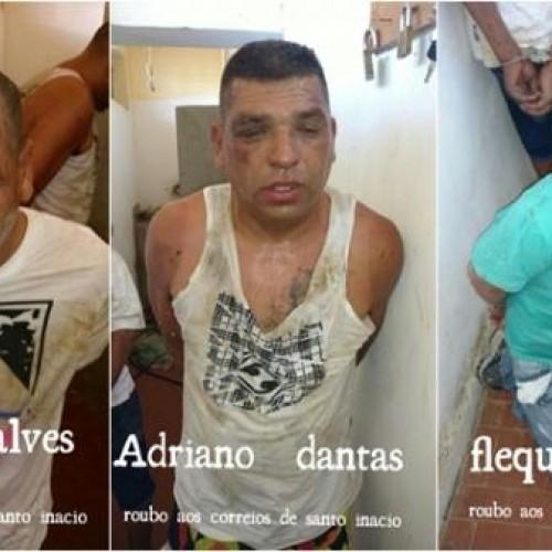 Justiça pede prisão de suspeitos de roubo aos Correios de Santo Inácio do Piauí